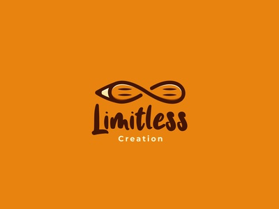 Limitless Creation Logo Design vector logo design minimalist logo branding concept brandidentity branding logo infinite creative pencil idea infinity limitless