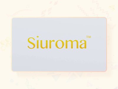 Siuroma | Essential Oil Roll-On Product Packaging Design 3d animation 3d promotion bottle box floral natural product siuroma package design packaging essential oil branding logo illustration design