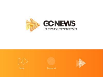 GCNEWS BY KVB GLOBAL CAPITAL | News Platform App UIUX Design android ios banking news bank finance web app branding logo design
