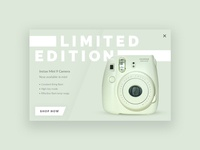 Limited Edition Instax Pop-Up