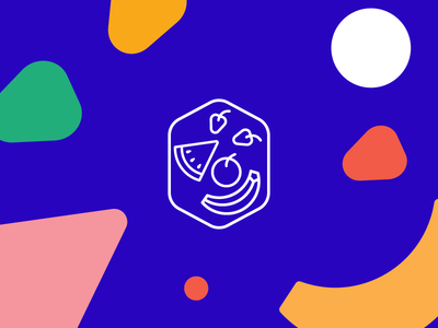 Ohfruta! vector guadalajara mexico app fruits fruit logo logo badge illustration icon brandig