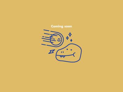 Screenfriends. guadalajara mexico meteorite dinosaur icon branding agency illustration branding design branding