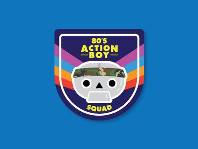 80's action boys squad