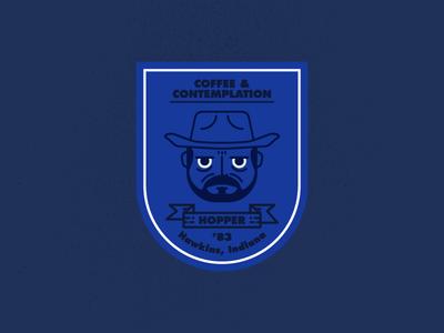 Hopper icon sherif badge hopper stranger things