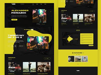Pieniazek.art Web UI 2020 website webdesign portfolio website photography portfolio photographer ux ui art