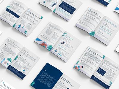 Ebook: a strong marketing branded asset doctor ebook design design team branding illustration healthcare
