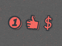 One For Your Money (Icon Set)
