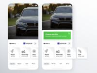 App car repair concept