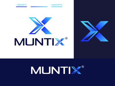 Modern X Letter Logo logonew logo logo concept letter logo logotype logomaker branding logoinspiration creative logo logodesigner logodesign modern logo