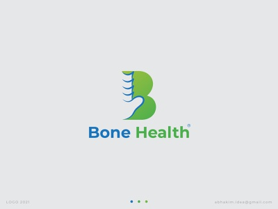 Bone Health Logo health medical logo medical bone health bone health logo bone letter logo logo logotype logomaker logoinspiration logomark logos creative logo logodesigner logodesign