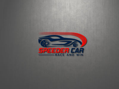 Racing Car Logo, Speeder Car Logo brand identity business logo minimalist logo logo designer logo design car shop logo car detailing logo logistic logo car wash logo transport detailing logo racing logo logo maker auto repair logo car company logo car logo racing logo automotive automotive logo