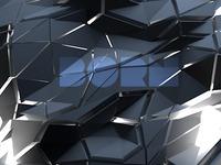 born wallpaper cinema4d design triangles blue born happy desktop