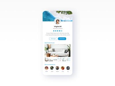 Daily UI - 011 - User Profile dailyui hawaii user profile challege app design ux design bootcamp user experience ui uidesign interfaces