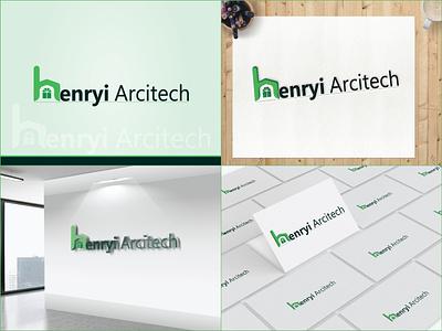 Henry ARC Logo branding architect logo logo animation brand logo design logodesign logotype brand logo logo