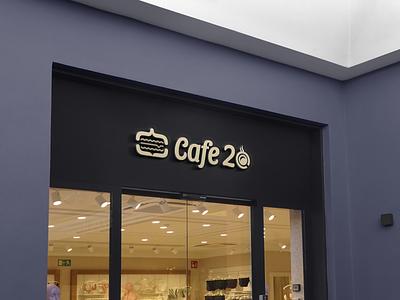 Cafe 20 20 cafe caffe restaurent creative logo best logo abastact logo animation logo design new logo logodesign brand logo logo logotype
