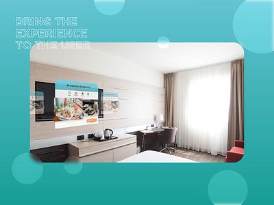 Room service Interface xd design user centered design 3d transform animations hotel app room service software design adobe xd ui design animation interface design interaction design