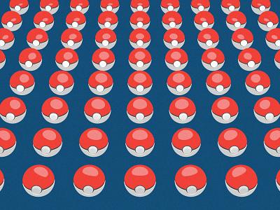 Poke Balls 3dart anime blender3d dribbbleweeklywarmup digital design pokemon