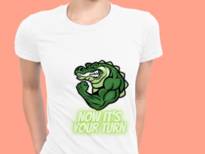 t shirt croco minimal animation art vector t-shirt illustrator illustration graphic design design