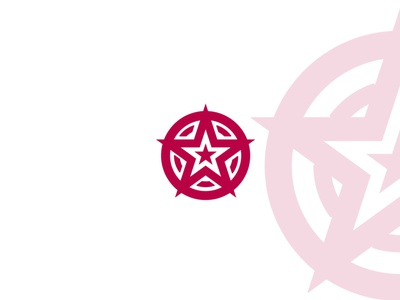 Star branding vector minimal logo illustrator illustration icon graphic design flat design