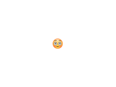 Flushed Emoji  - Codepen