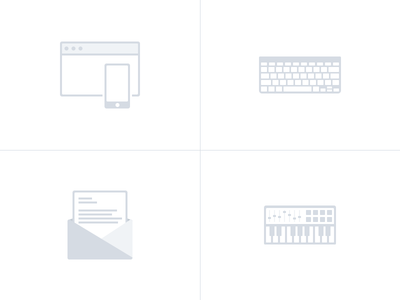 Quick icons for my CV