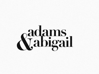 Adams & Abigail [7/50]