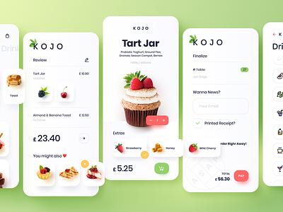 Food App food mobile app ux ui design