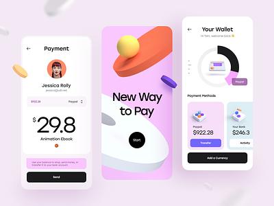 Mobile App Concept mobile app ux ui design