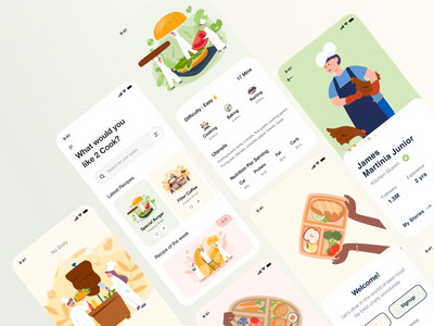 Food UI delivery food mobile app ux ui design