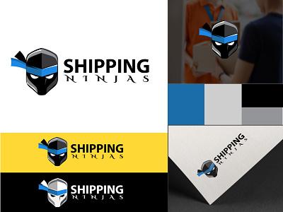 Logo Design for Shipping Ninjas business branding concept illustration logo branding minimal creative modern coperate design
