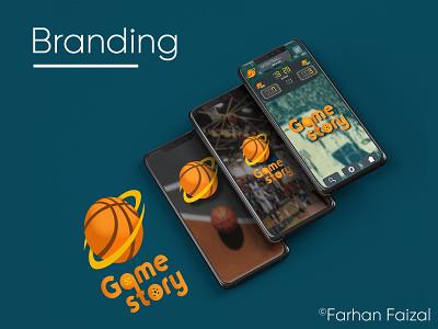 GameStory Icon Designing ui  ux app design sport icon design branding logo vector illustration minimal creative coperate modern design