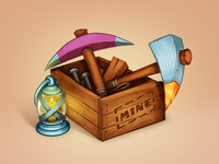 Miner's box