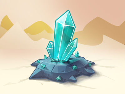 Crystal Icon game stone inapp icon crystal