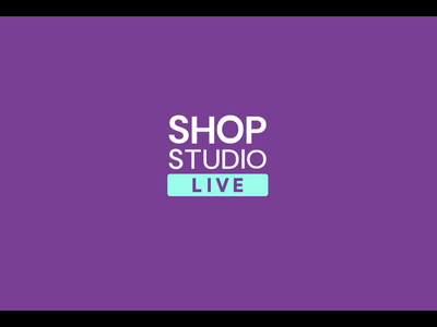 Shop Studio Live wordmar brand design identity