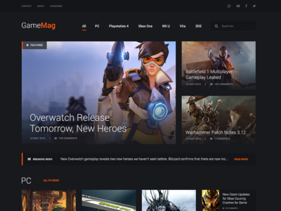 GameMag - WP Theme for Fun
