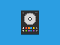 MIDI devices illustrated in CSS - Pioneer S7