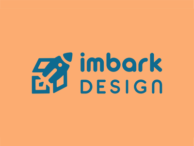 Imbark Design Brand Identity typography web design business cards mural flat illustration design logo graphic design branding