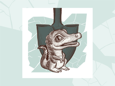 Impact Series - A character design animal portrait digital illustration procreate digital art graphic design branding illustration design