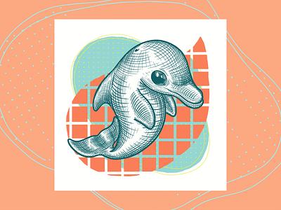 D - Impact Alphabet Series procreate digital illustration graphic design branding illustration design