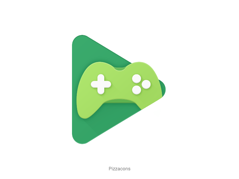 Google Play Games for Pizzacons icon pack pizzacons material design icon game