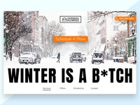 Snow Removal Landing Page