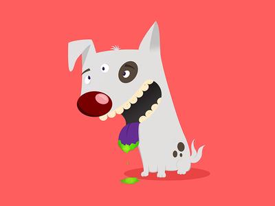 Radioactive dog