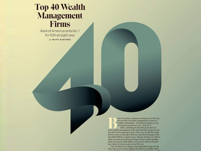 40 for Barron's Mag. craft robu andrei robu editorial typography type lettering numerals