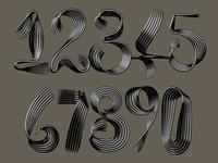 Sculptural Numerals