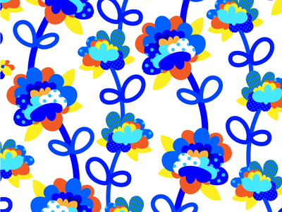 Graphic Flowers robu sports surface design graphic flowers pattern