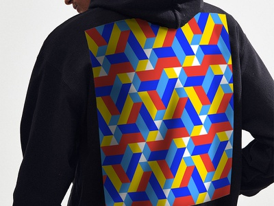 Graphic Patterns apparel optical illusion graphic pattern surface design