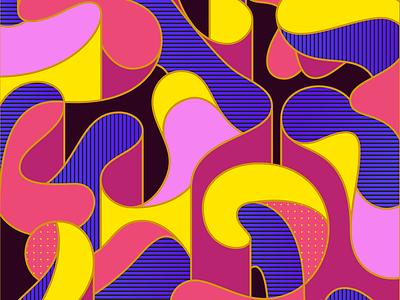 Robu Pattern cool apparel key visual key art geometric pattern