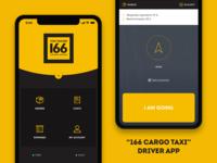 """""""166 Cargo Taxi"""" Driver app"""