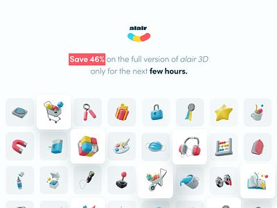 Cute 3D Dumbell dumbell 3d illustration design 3dicon 3ddesign webdesign ui blender3d appdesigner 3dhands