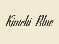 Kimchi Blue Logo Type